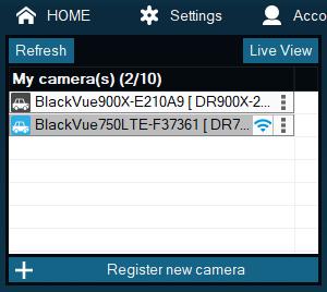 camera list